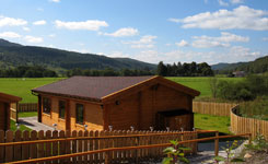 Self Catering Timber Cabin Accommodation near Loch Ness & Glen Affric